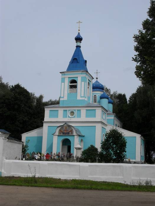 Demidov.  Orthodox church of the Protection of the Holy Virgin