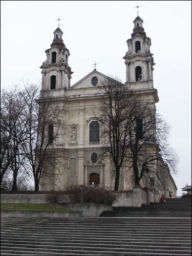 Wilno | Kościół Św. Rafała i klasztor Jezuitów | Kościół Św. Rafała na  Śnipiszkach w Wilnie... - Foto 15437