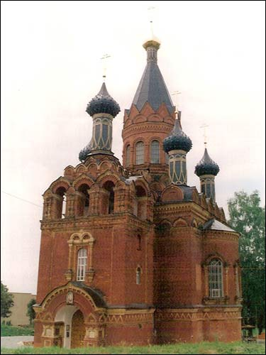 Bryansk. Orthodox church of the Saviour