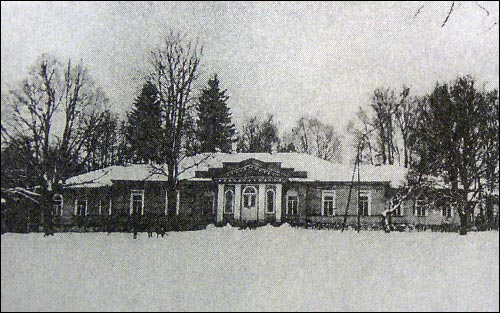 Сядзібны дом у Гняздзілаве